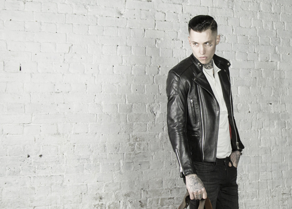 Invictus - the vintage inspired classic leather cafe racer motorcycle biker jacket