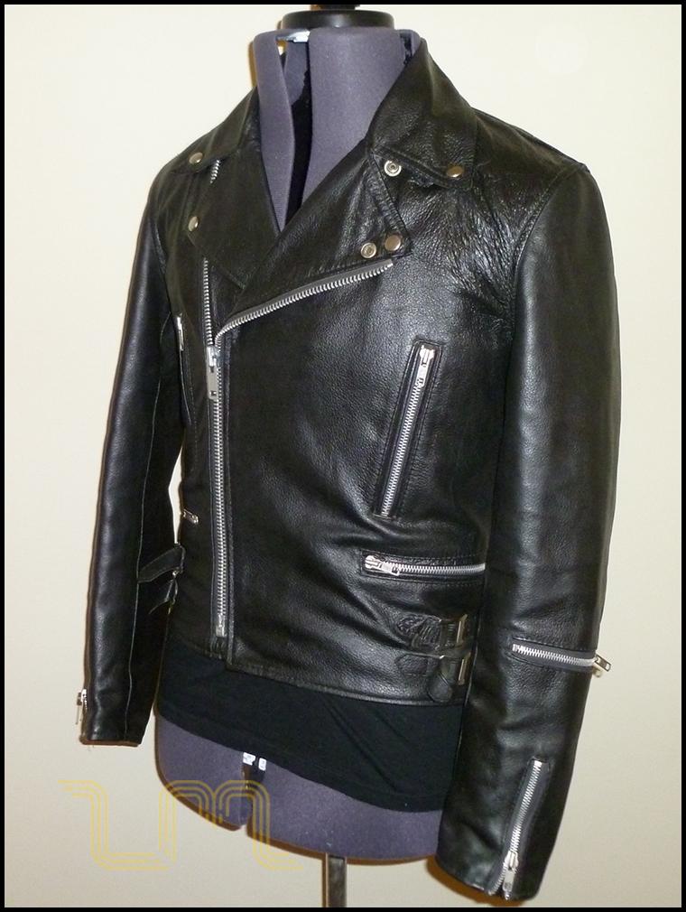 Vintage Campri Everest Leather Biker Jacket | Item No. 56