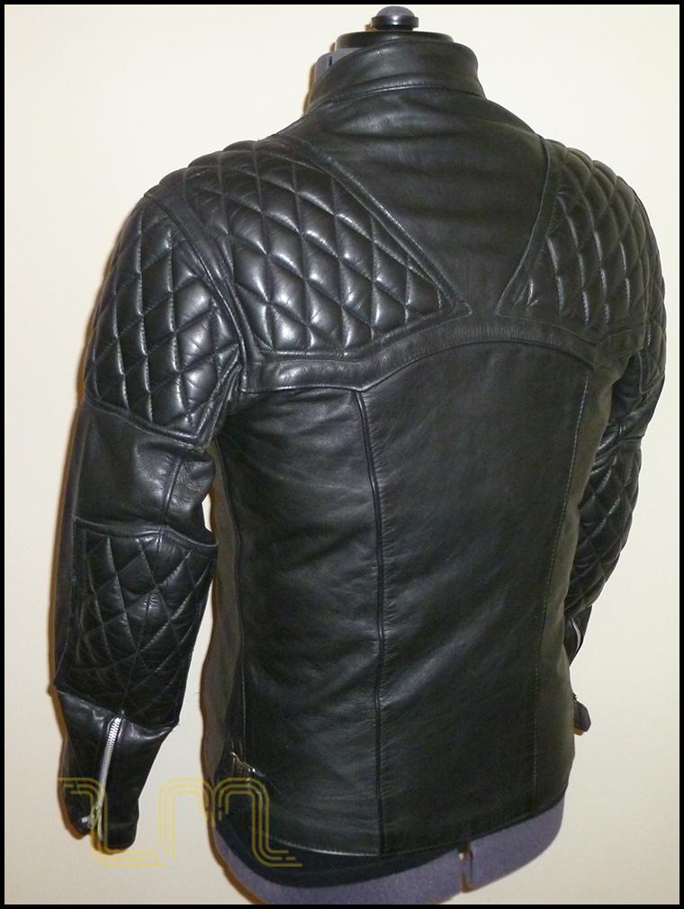 Highwayman Ricarde de Luxe Leather Biker Jacket | Item No. 37