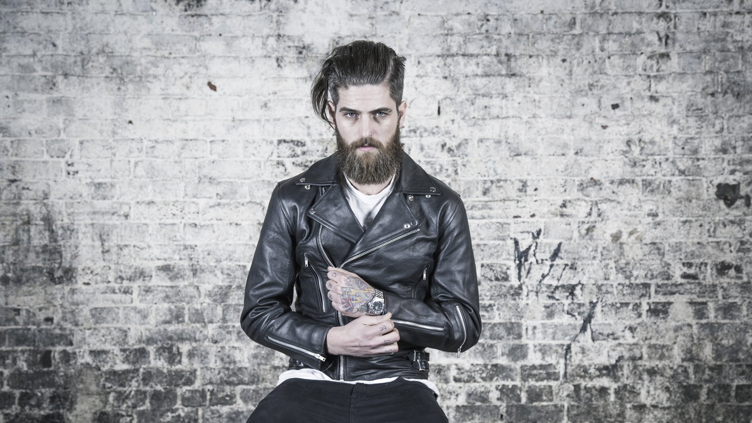 LEATHER BIKER JACKETS | Men's New & Vintage Leather Jacket & Cafe Racer Style Clothing & Accessories
