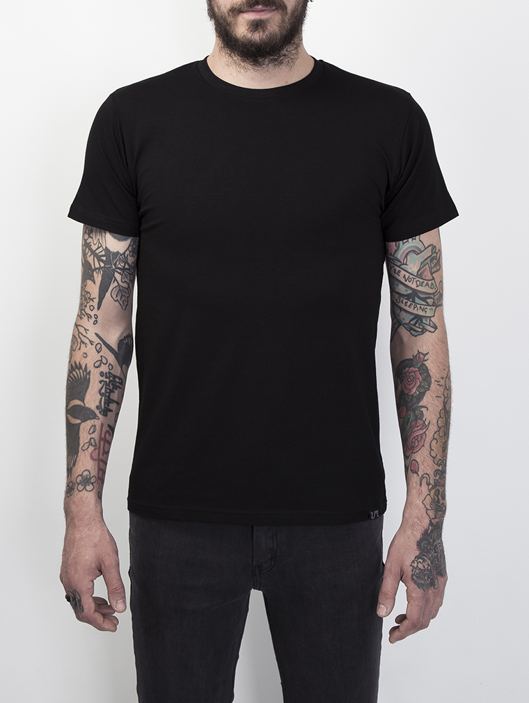 Ajax Men's Short Sleeve T Shirt in Black image one