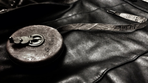 Vintage leather biker jackets for men